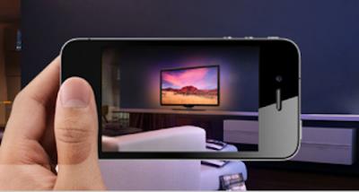 Realidad aumentada en el iPhone para elegir tu nuevo TV LED de Philips